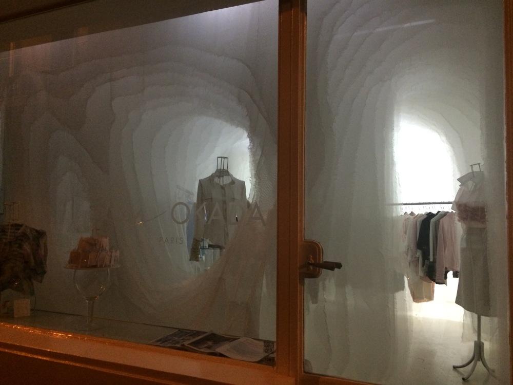 Vitrine boutique Ken Okada