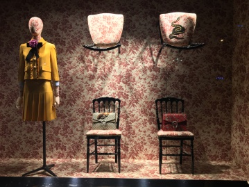 Vitrine Gucci - octobre 2015