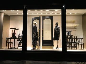 Vitrine Chanel - Brasserie Gabrielle - octobre 2015