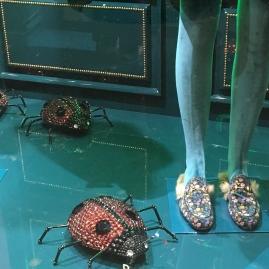 Vitrine Gucci Galeriesafayette-coccinelles